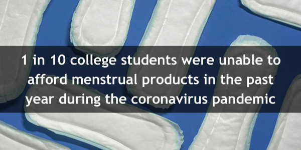Menstrual Equity for all Act of 2021 college stat