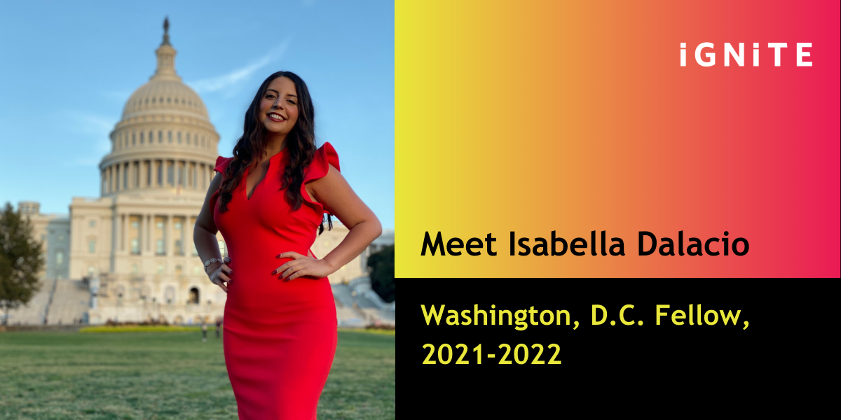 Meet Isabella D'Alacio, IGNITE's Washington D.C.