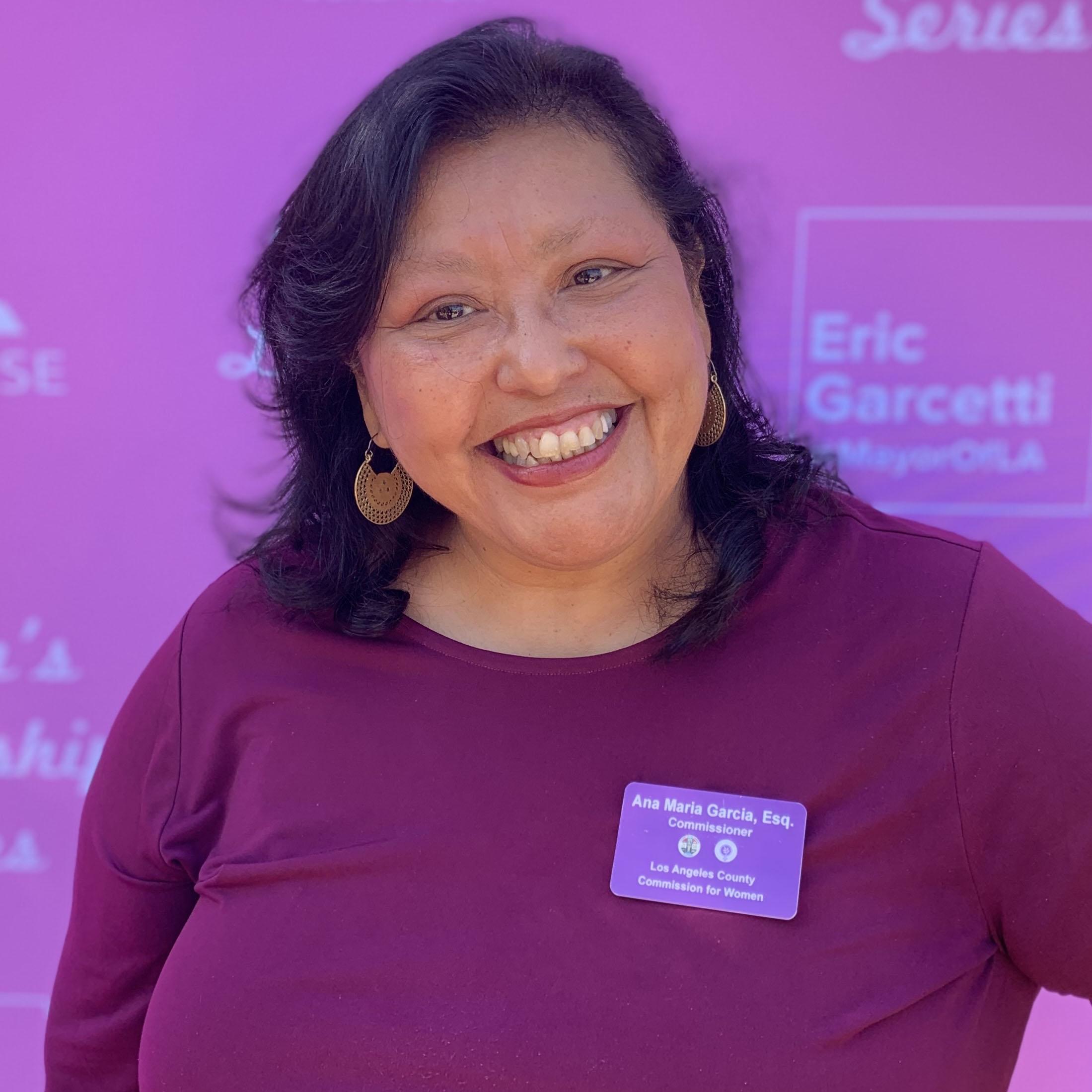 Ana Maria Garcia Commissioner