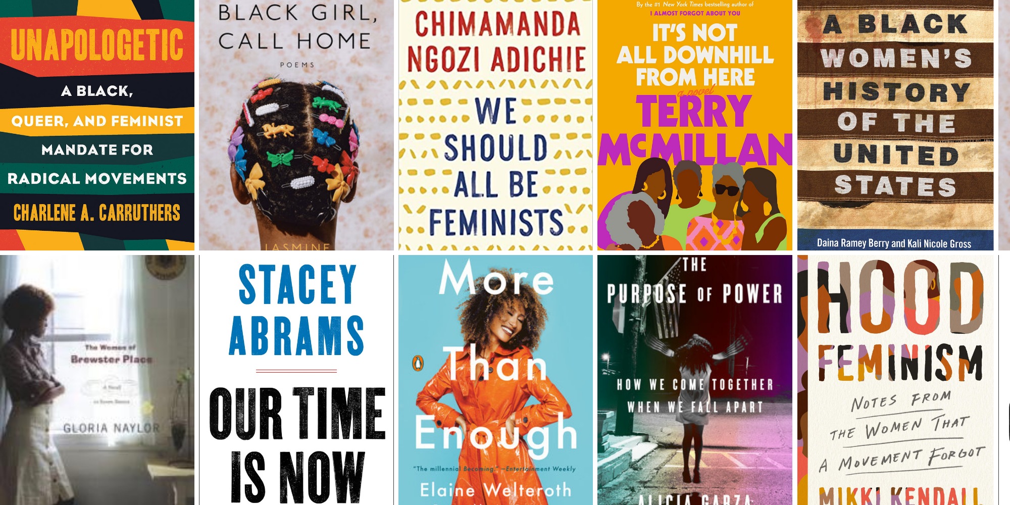 Recommended reads by Black women