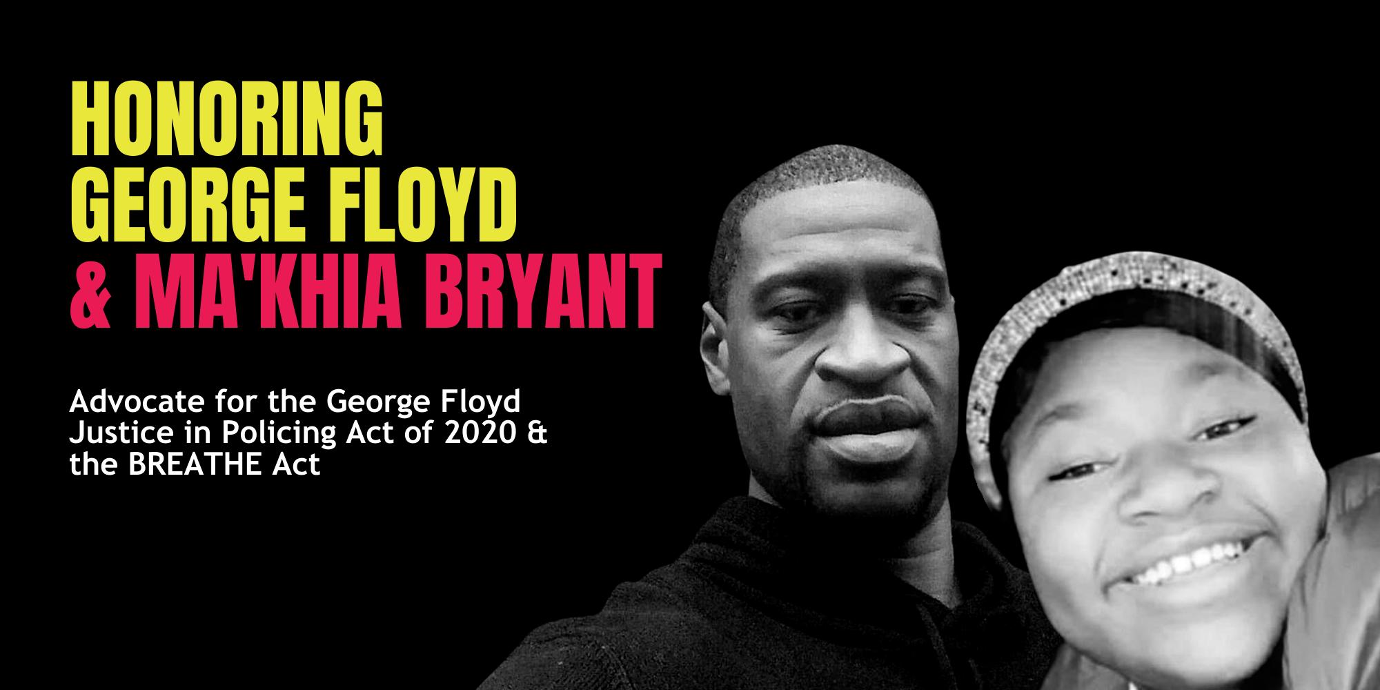 George Floyd and Ma'Khia Bryant