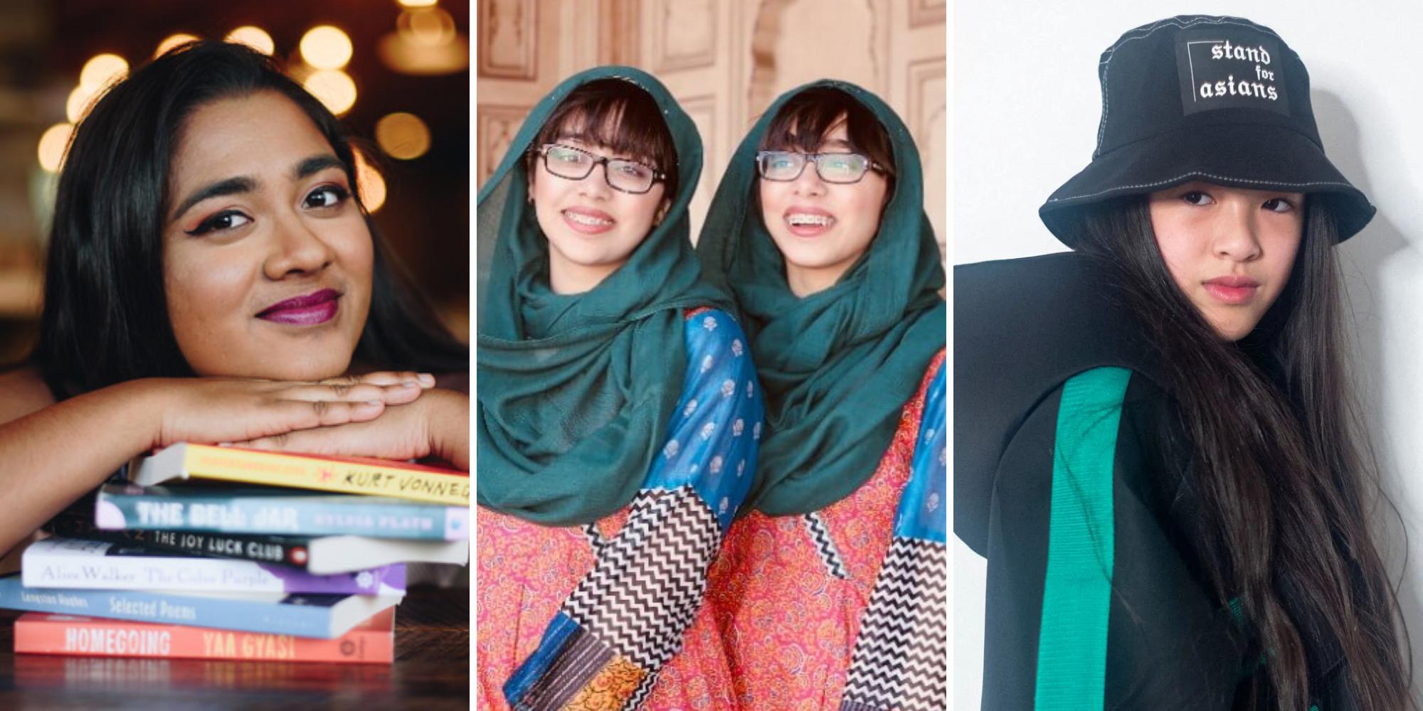Malavika Kannan, Maryam and Nivaal Rehman and Ashlyn So