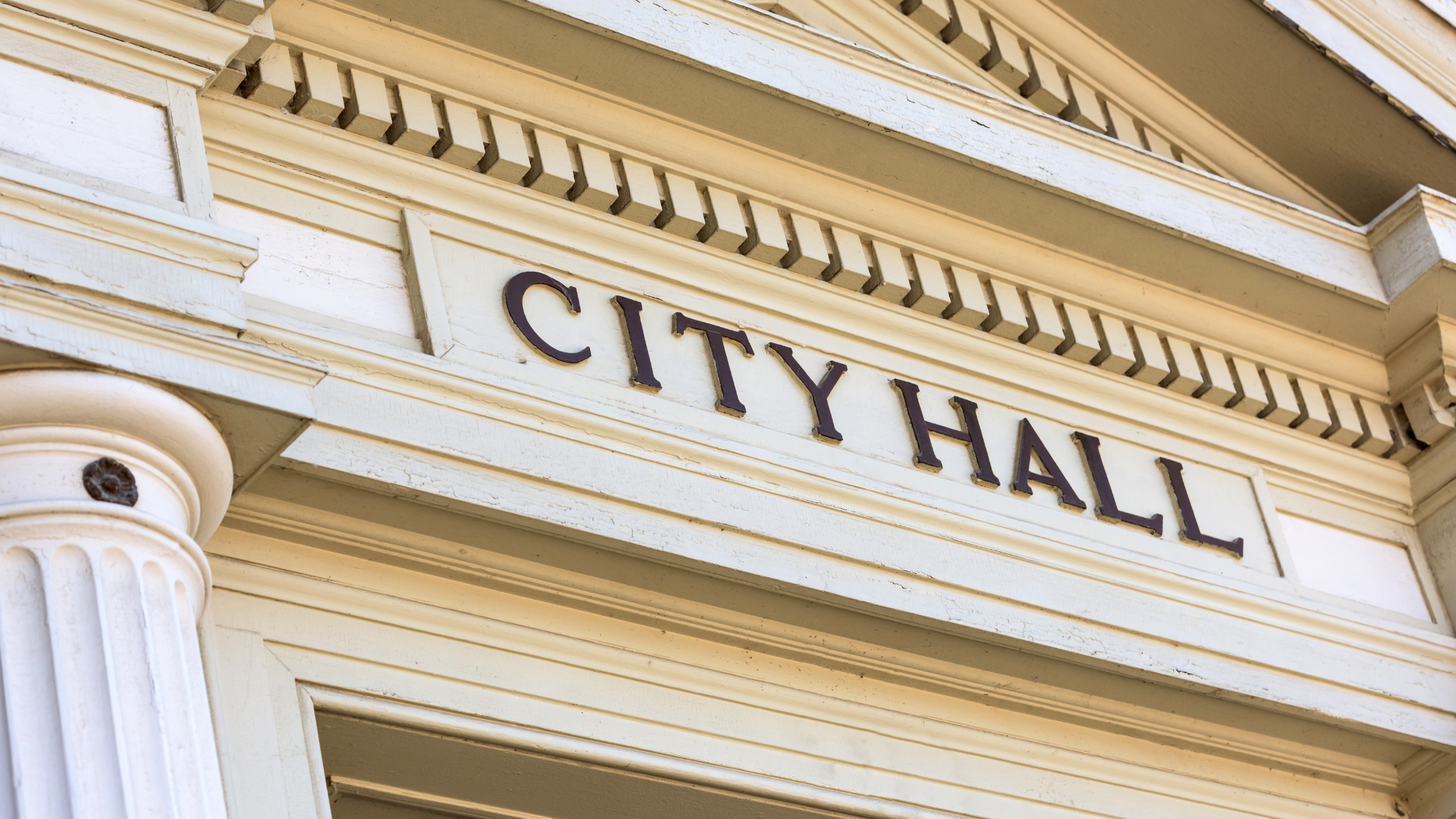 ABCs of elected office, photo of a city hall building
