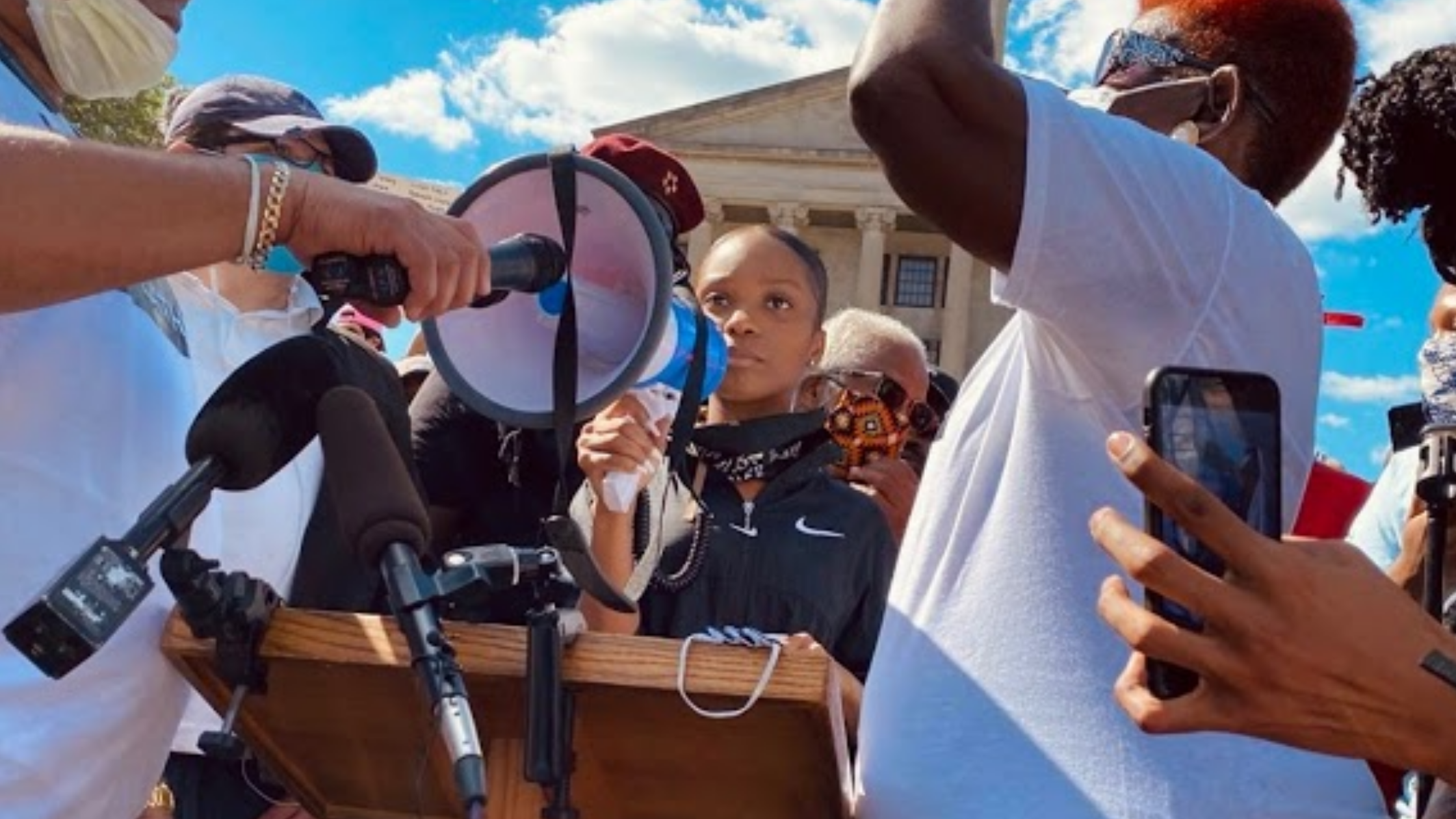 How to Stay Engaged After the Election, activist Jeneisha Harris Black Lives Matter
