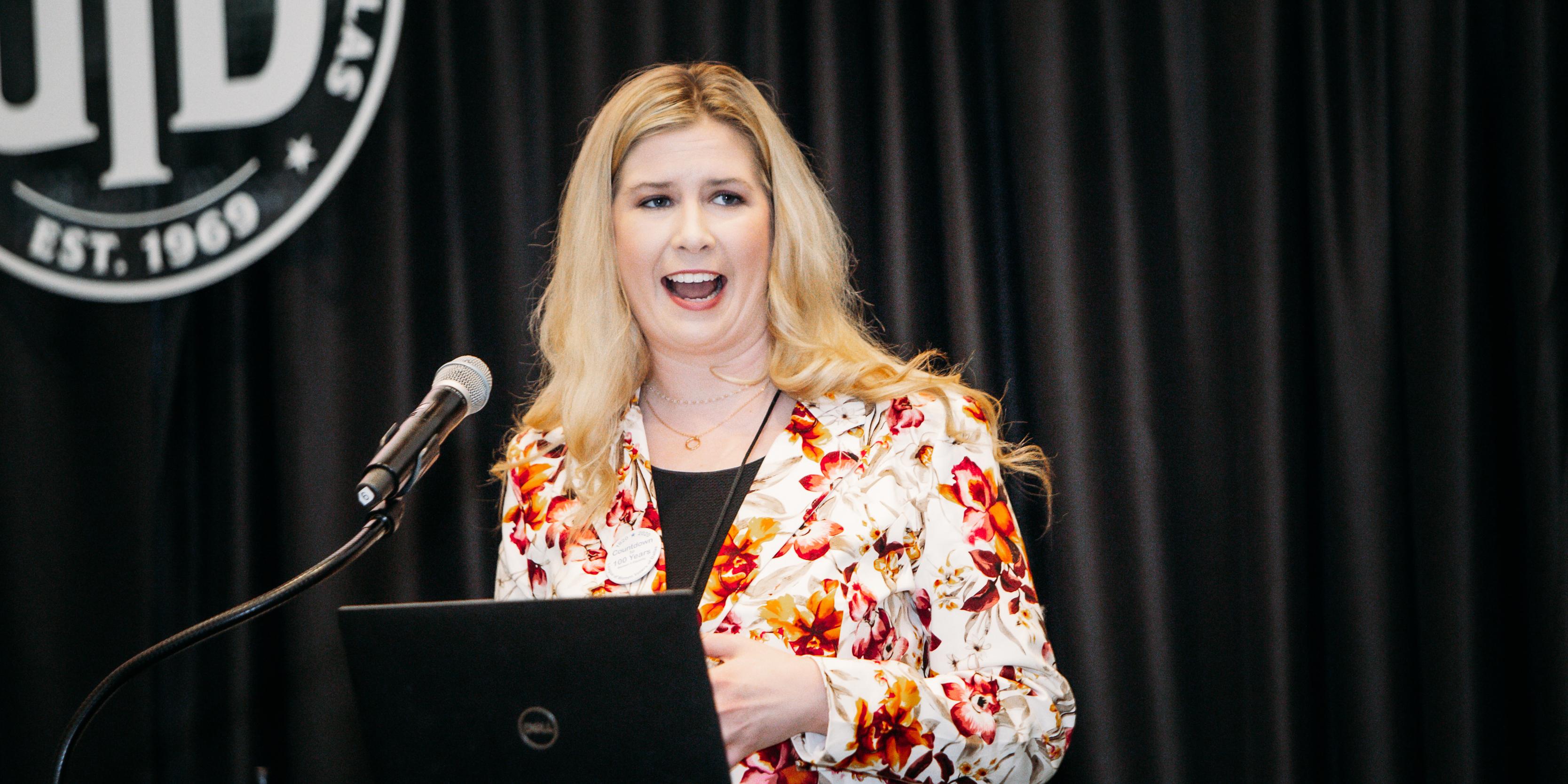Whitney Thomas, Director of Major Giving, Texas