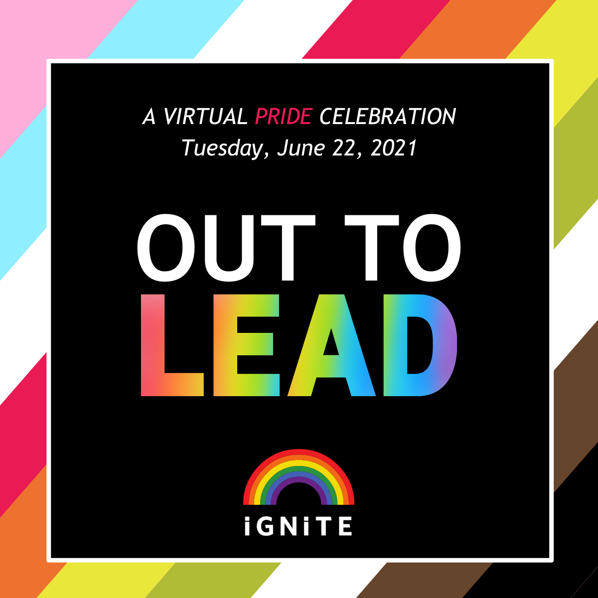 Out to Lead Pride 2021 ginal graphic