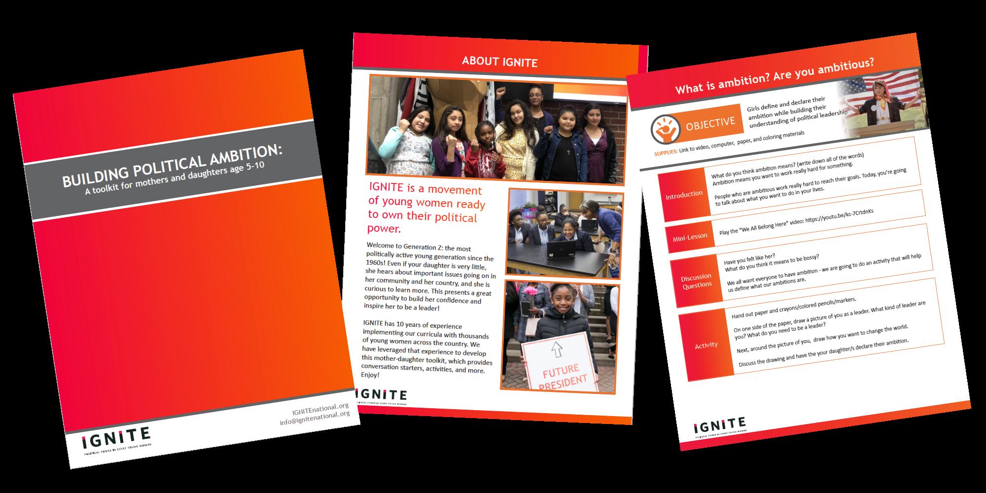 building political ambition guide for parents